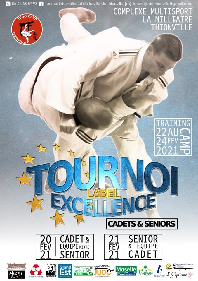Tournoi international de la ville de Thionville 2021 (U18/Senioren)