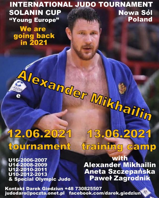 "International Judo Tournament Solanin Cup 2021 ""Young Europe"""